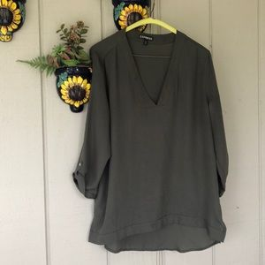 Express military green Blouse